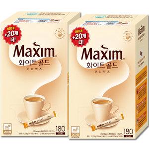 [맥심]맥심 화이트 골드 커피믹스 320T : 커피는 맥심~