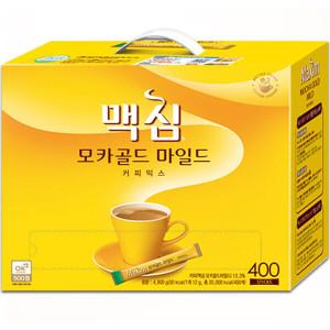 [맥심]맥심 모카골드 커피믹스 400T +무드등증정