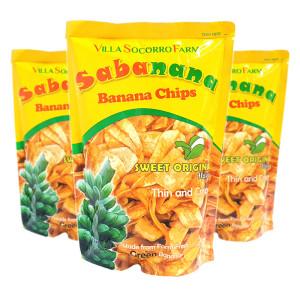 필리핀/ 1봉 사바나나 바나나칩 사바나나칩 간식 과자