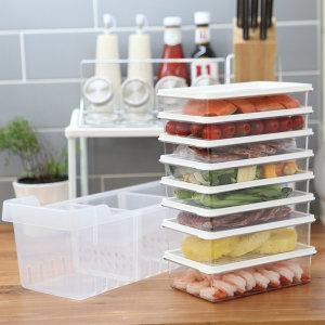 [창신리빙] 냉장고정리 고급형A/밀폐용기 소분 반찬통 플라스틱