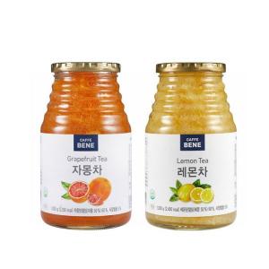 [카페베네] 과일청1kg 2개 골라담기/유자/자몽/레몬/생강/청귤