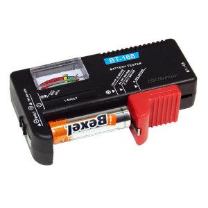 [레쎄전자] 배터리테스터 기/BT-168/ 건전지 잔량체크기/ 쉬운측정