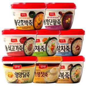 [동원에프앤비] 동원 양반죽 8종10개 골라담기