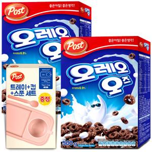 [포스트] 오레오오즈 500g+500g 시리얼 간식 아침식사