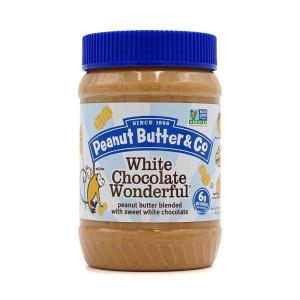 [피넛버터앤코] 피넛 땅콩 버터 스프레드 화이트 초콜릿 원더풀 454 g