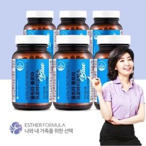 [에스더포뮬러] NEW 업그레이드 여에스더 유산균 프로바이오틱스블루 6병12개월