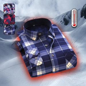 360도 수퍼 웜 남성 기모 퍼 셔츠 3TYPE