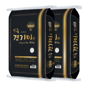 [쌀집총각] 햅쌀 진품 경기미 추청 쌀 20kg (10kg+10kg) 박스포장