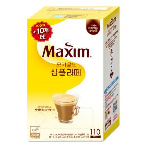 [맥심] 모카골드 심플라떼 100T 커피믹스