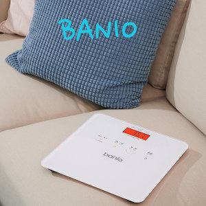 [반이오] 네이버 핫템.  banio 4색 BMI 디지털 체중계(화이트)