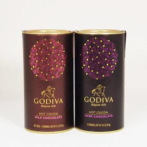 GODIVA/고디바 핫코코아 밀크 초콜렛+다크 초콜렛