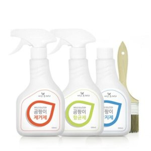 [에코후레쉬] 곰팡이 3종세트 제거제 항균제 방지제 벽지 욕실