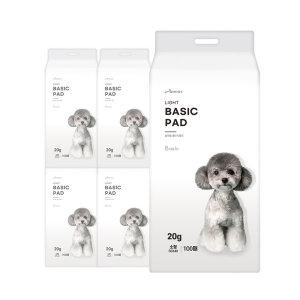 [아몬스]국산 절약형 패드 400매 강아지/애견/배변/용품/20g