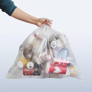 [리벤스] 분리수거함 비닐봉투(40L) 100매 쓰레기봉투