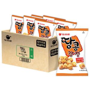 [오리온] 땅콩강정 80g 12봉
