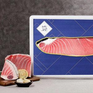 (한수위) 참다랑어 대뱃살1kg 선물세트