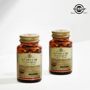 [솔가] 오메가3 700 EPA/DHA (30캡슐) x 2병
