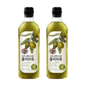[백설] 올리브유 900ml  1개