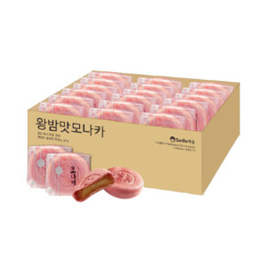 [CW청우] (밤) 왕찹쌀 밤맛 모나카 27개입 810g+사은품