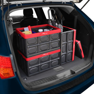 [엑스핏] 접이식 자동차 트렁크정리함 차량용수납함 하드케이스L