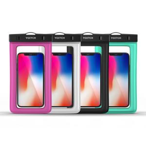 [요이치] 1+1 핸드폰 휴대폰 방수팩 레릭 YPW300 - 블랙 +블랙
