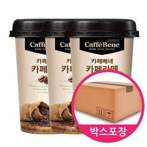 [푸르밀] 카페베네 컵커피 200ml 20개/카페라떼/카페모카/연유