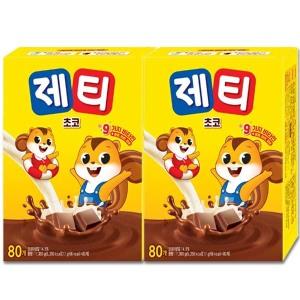 [동서] 제티 초코 80T+80T/미떼/핫초코