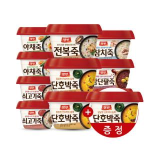 [동원]양반죽 285gX10개 (+호박죽증정)