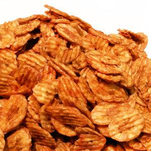 [쪽빛누리] 구운바나나칩  500g 바나나88% 함유 파삭함과 구수함