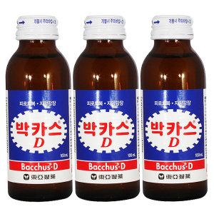 [동아제약] 박카스D 100ml x 100병 / 드링크 병음료