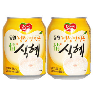 [동원에프앤비] 동원 정식혜 238ml x 24캔 / 식혜캔