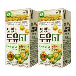 [맛있는두유GT] GT맛있는두유 담백한맛 190ml x 32팩 / 팩두유