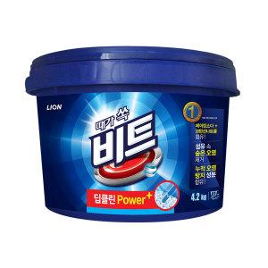 [비트] 비트 가루 세탁세제 4.4kg 일반용 바스켓 x 1개
