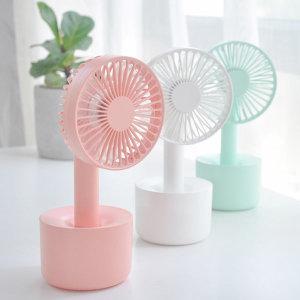 데이지팬 휴대용 핸디형 선풍기 탁상용 미니 선풍기