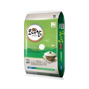 [농협] 고성농협 오대쌀 10KG 18년산 박스포장