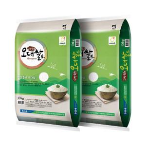 고성농협 오대쌀 10kg+10kg +4000원