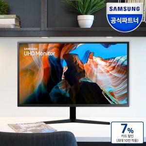 삼성모니터 UHD 4K 32인치 모니터 U32J590