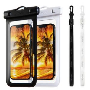 [빅쏘] 1+1 IPX-8등급 핸드폰 방수팩 P1 화이트+블랙 휴대폰