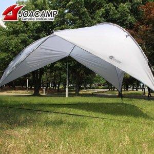 [조아캠프] 초대형 돔 타프 그늘막 텐트