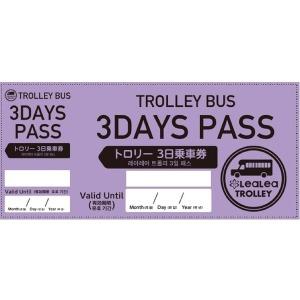 |카드할인5%| 괌 트롤리 버스 레아레아 (3일권) /E-티켓/이메일/아동권있음