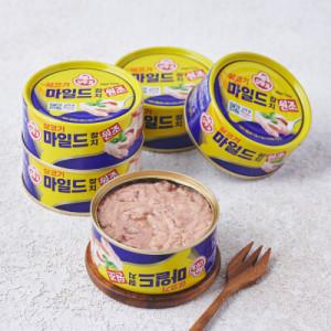 [오뚜기] 슈퍼스타 오뚜기 마일드참치 (150g 5입)