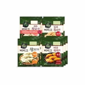 파격구성  왕교자3봉 + 매운교자3봉+새우2봉+김치2봉
