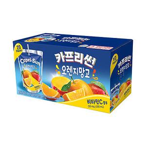 [농심] 농심 카프리썬(오렌지망고) 200ml x 10