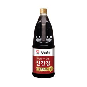 [햇살담은] 청정원) 진간장 진한맛 1.7L