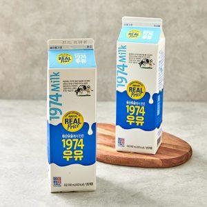 [부산우유] 리얼 1974 우유 900ml
