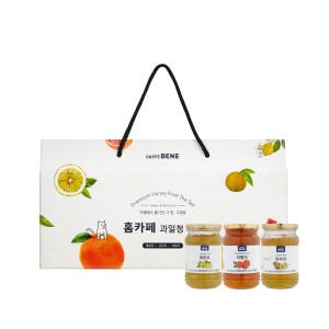 [카페베네] 과일청3입선물세트