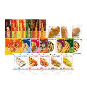 [오쿡] 오쿡  꼬치형 닭가슴살 핫바 20+2팩