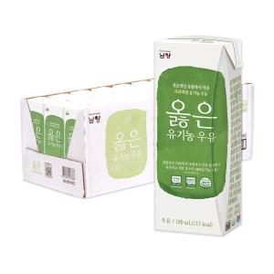 옳은 유기농 우유 180ml 24팩 +24팩