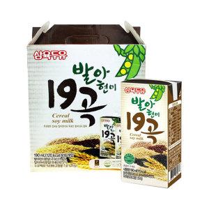 [삼육두유] 삼육 발아현미19곡 190ml x 32팩