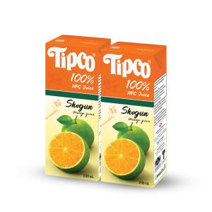 [팁코] 쇼군 오렌지주스 200ml x24팩/음료/음료수/주스